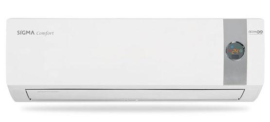 Sigma SGM12INVDMR Comfort Serisi A++ Enerji Sınıfı 12.000 BTU/h Inverter Klima