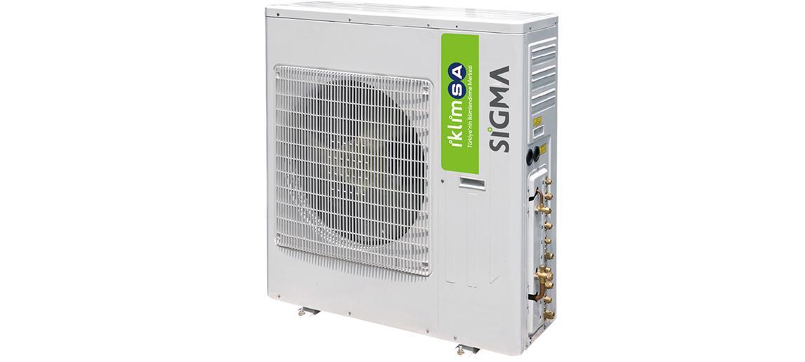 Sigma SGM42INVMLD Multi Inverter Dış Ünite A Enerji Sınıfı 42.000 BTU/h Inverter Klima
